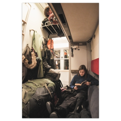 Kungsleden Nighttrain from Stockholm to Abisko