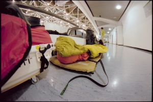 our place to rest on the airport Berlin Tegel
