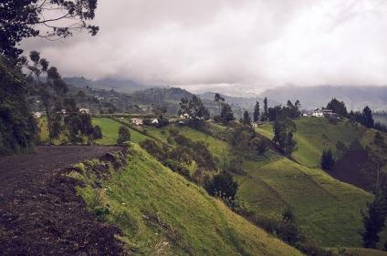 Ecuador landscape