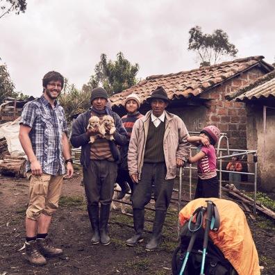 Ecuador locals family