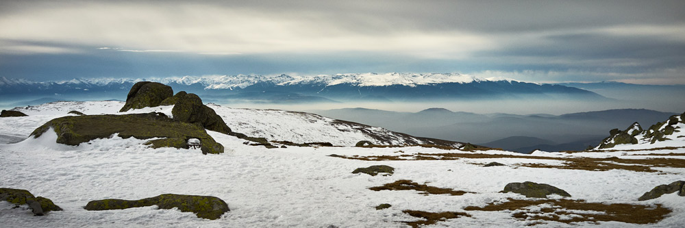 pannorama vitosha to rila mountains