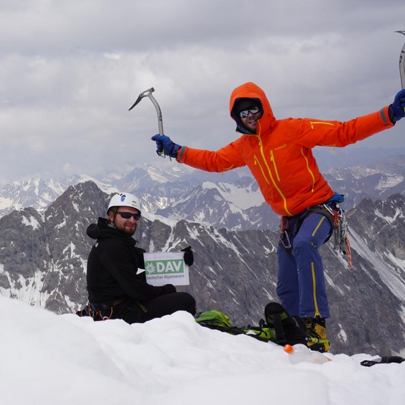 mountaineering in Tajikistan
