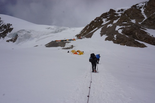 Track to Camp 2