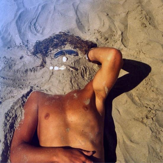 Danilo having fun at the beach of the Black Sea