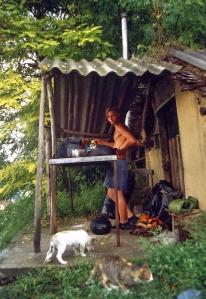 Danilo is preparing lunch
