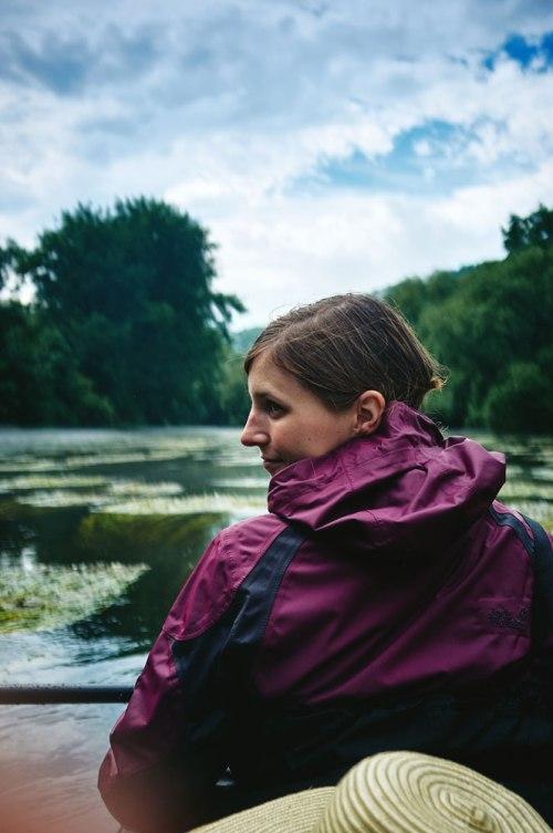 paddling the Saale