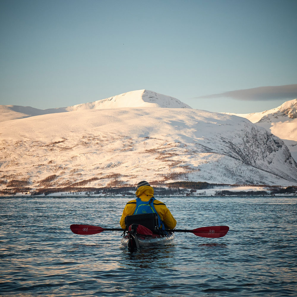 Paddling beyond the Arctic Circle Sea kayak Norway