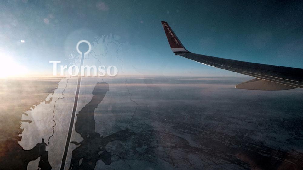 Flight to Tromsø