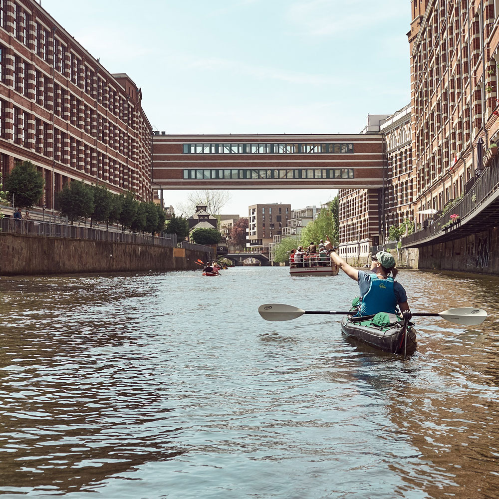 Paddle Tour Leipzig discovering Leipzig city center with a Kayak