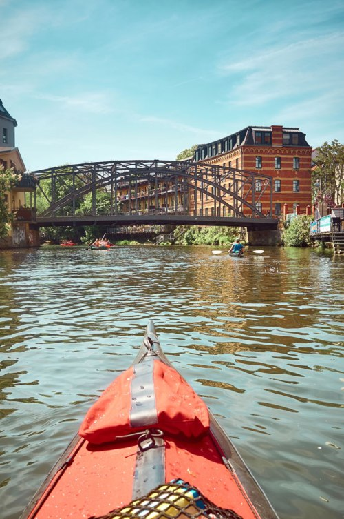 discovering Leipzig on a Kayak