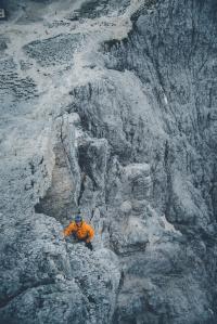Dolomites – Torri Del Vajolet (Torre Delago) resting
