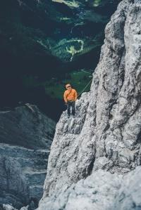 Dolomites – Torri Del Vajolet (Torre Delago) waiting and watching