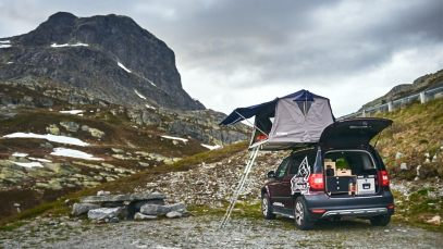 our first night in the mountains of south Norway ©Christian Hein